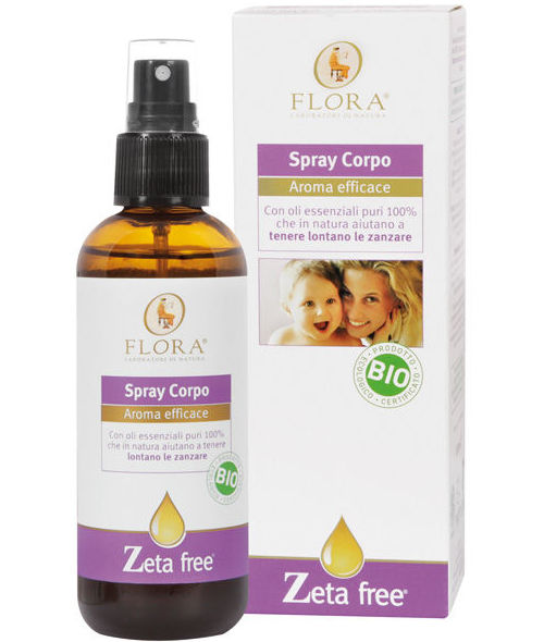 Spray corporal de mosquitos FLORA 30ml RUEDA MOSQUITO: Productos de Bionatura