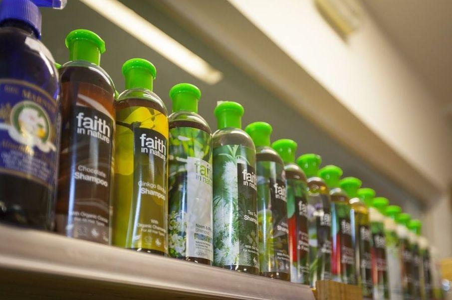 gran gama de productos faith in nature