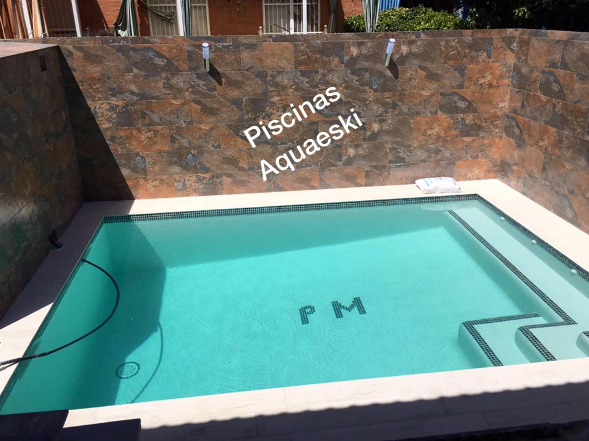 Foto 24 de Construcción de piscinas en Parla | Piscinas Aquaeski
