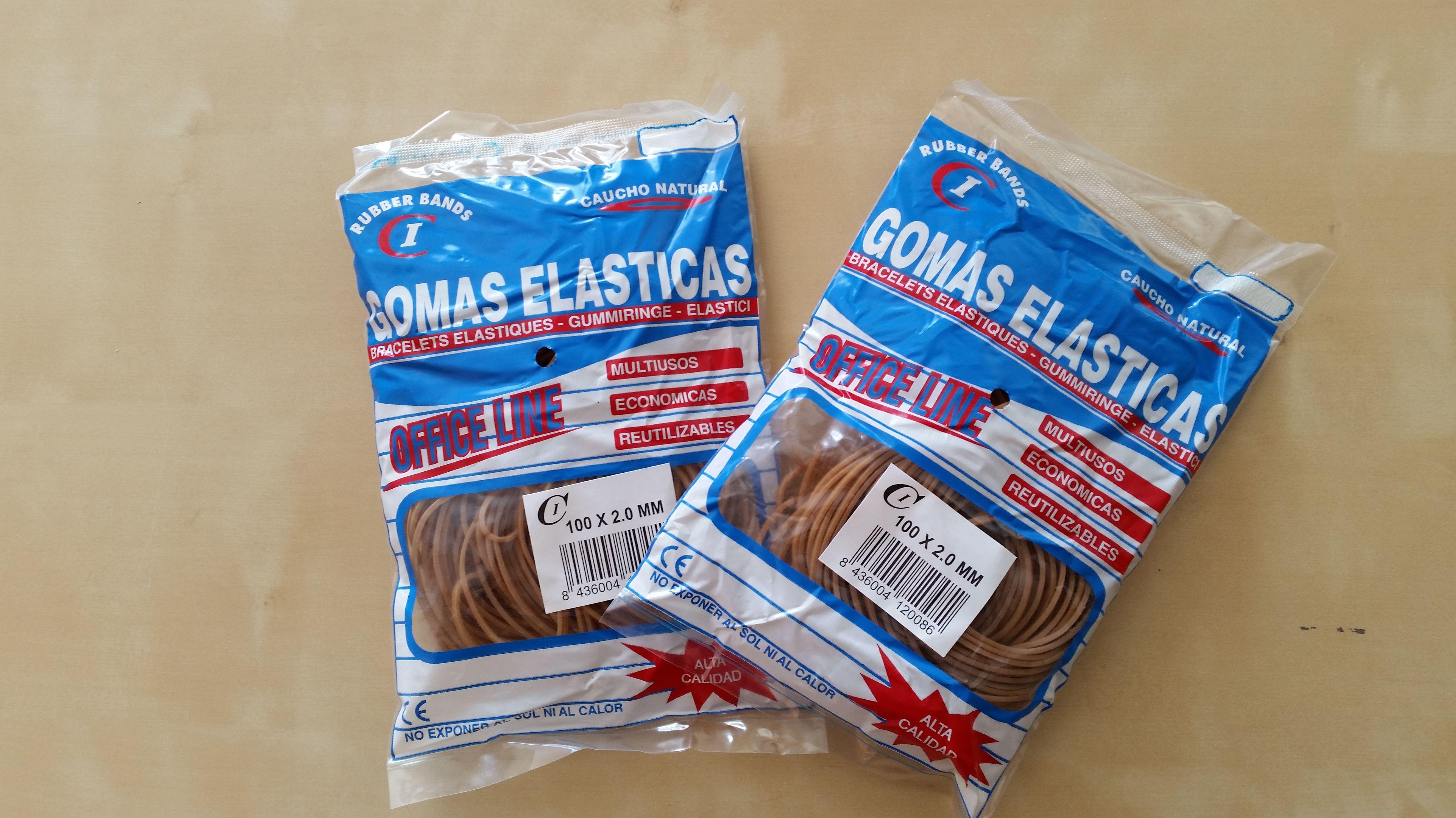 Bolsa Gomas Elásticas 100 Gr : Productos y Servicios de Cobo Industrial Elastec