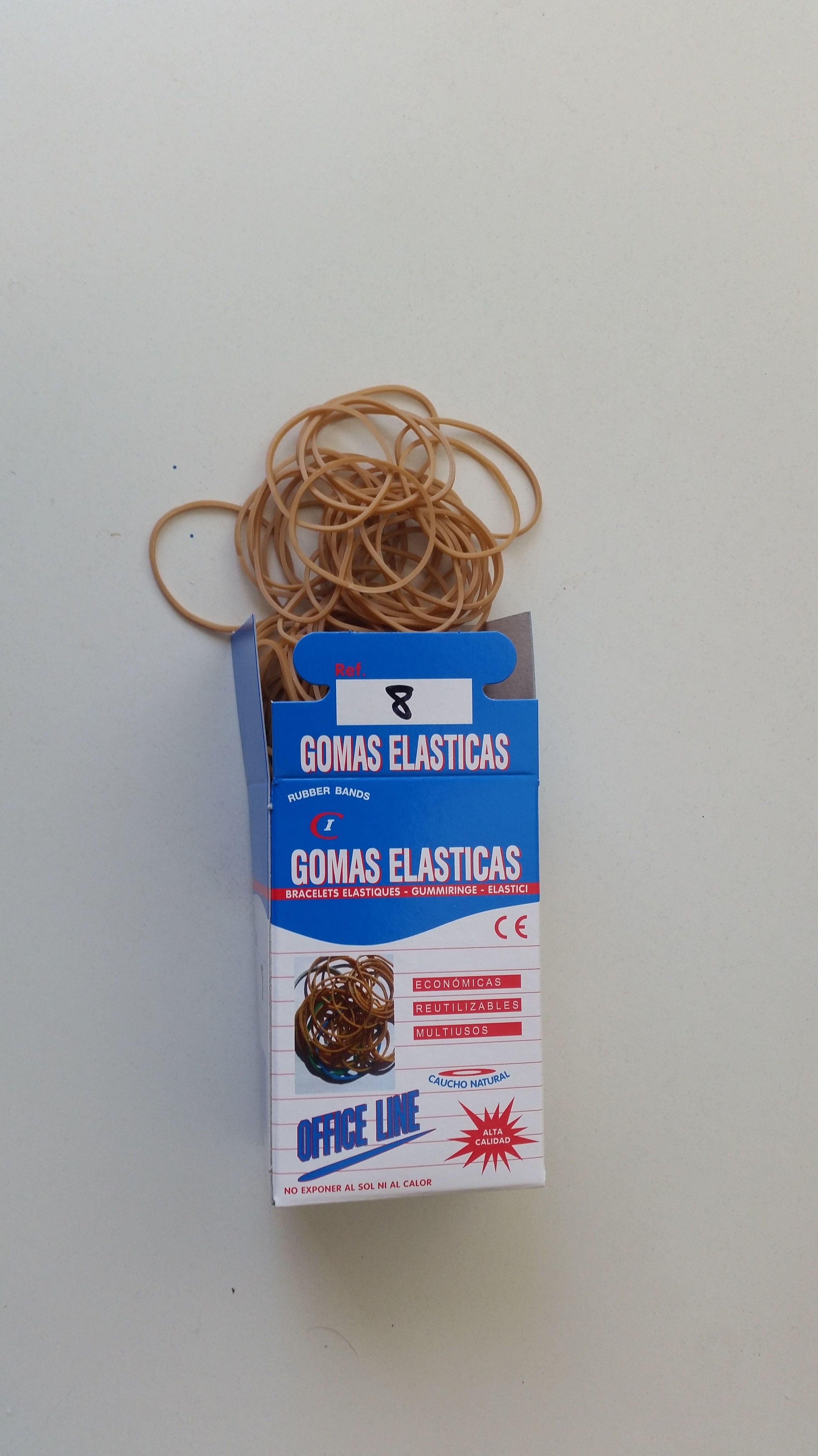 Cajas Gomas Elásticas de 100 Gr: Productos y Servicios de Cobo Industrial Elastec