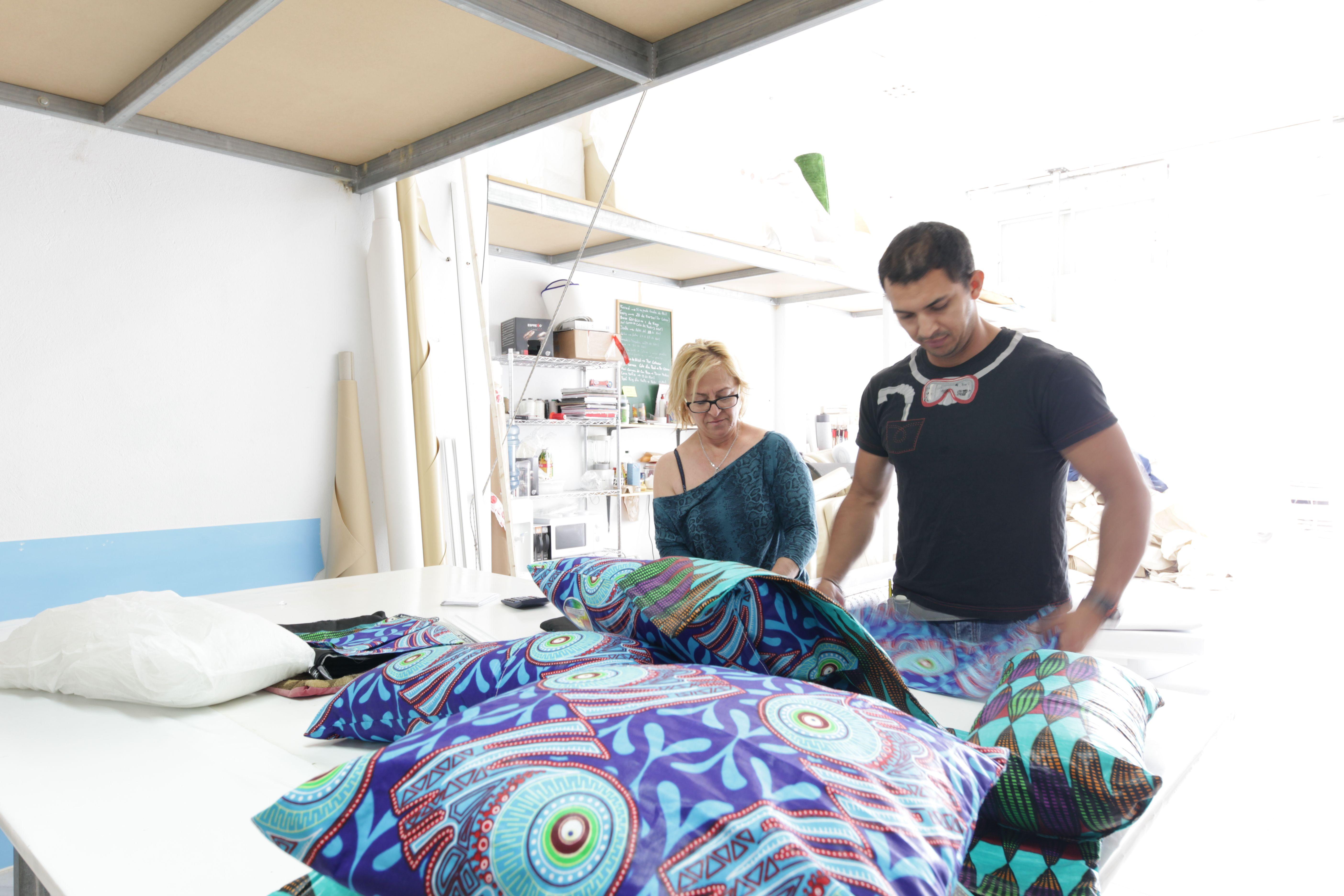 Trabajos creativos en Alma Tapicería Creativa