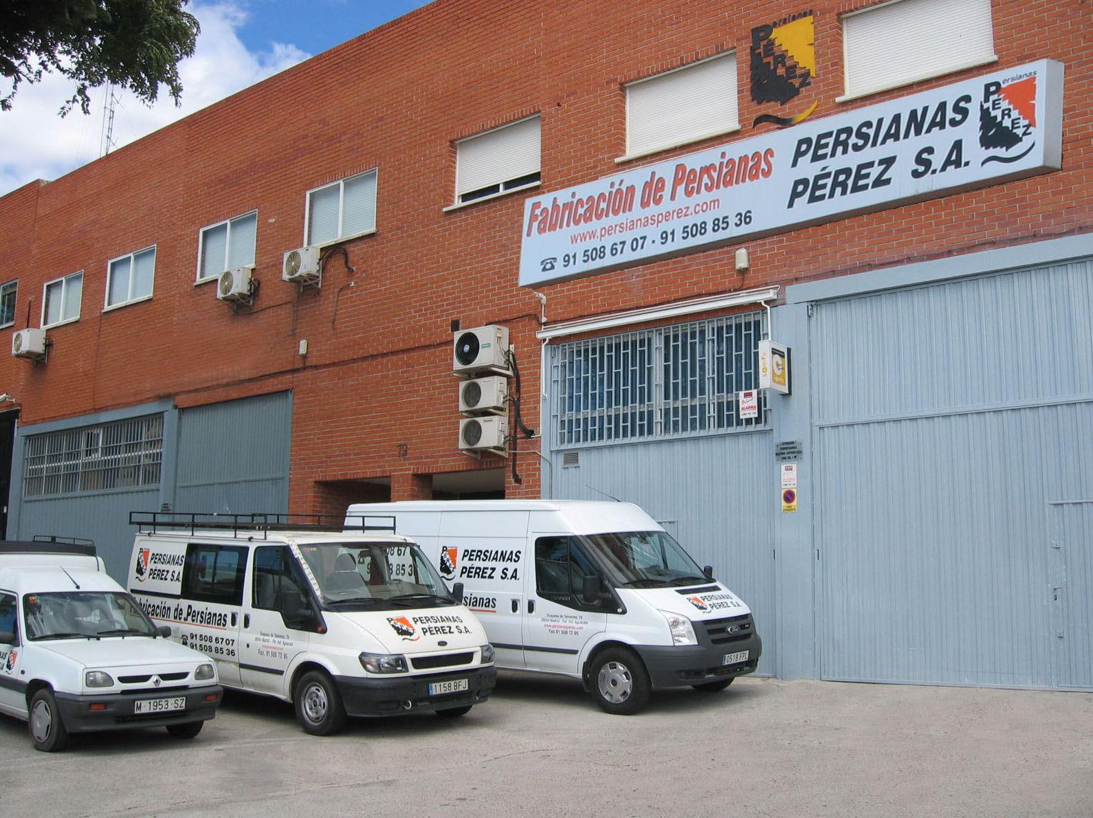 Fabrica de persianas en Madrid