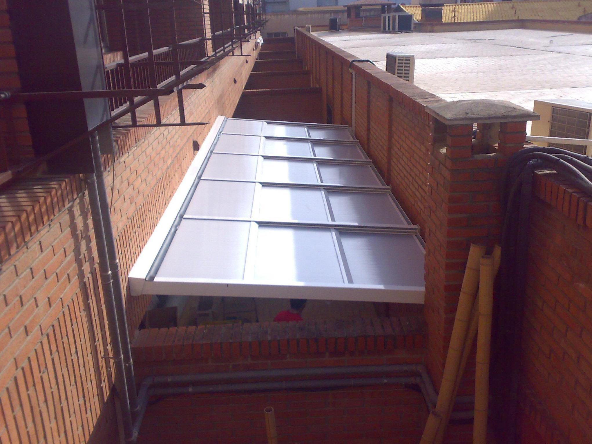 Aluminio s Paiporta, cerramiento de terraszas
