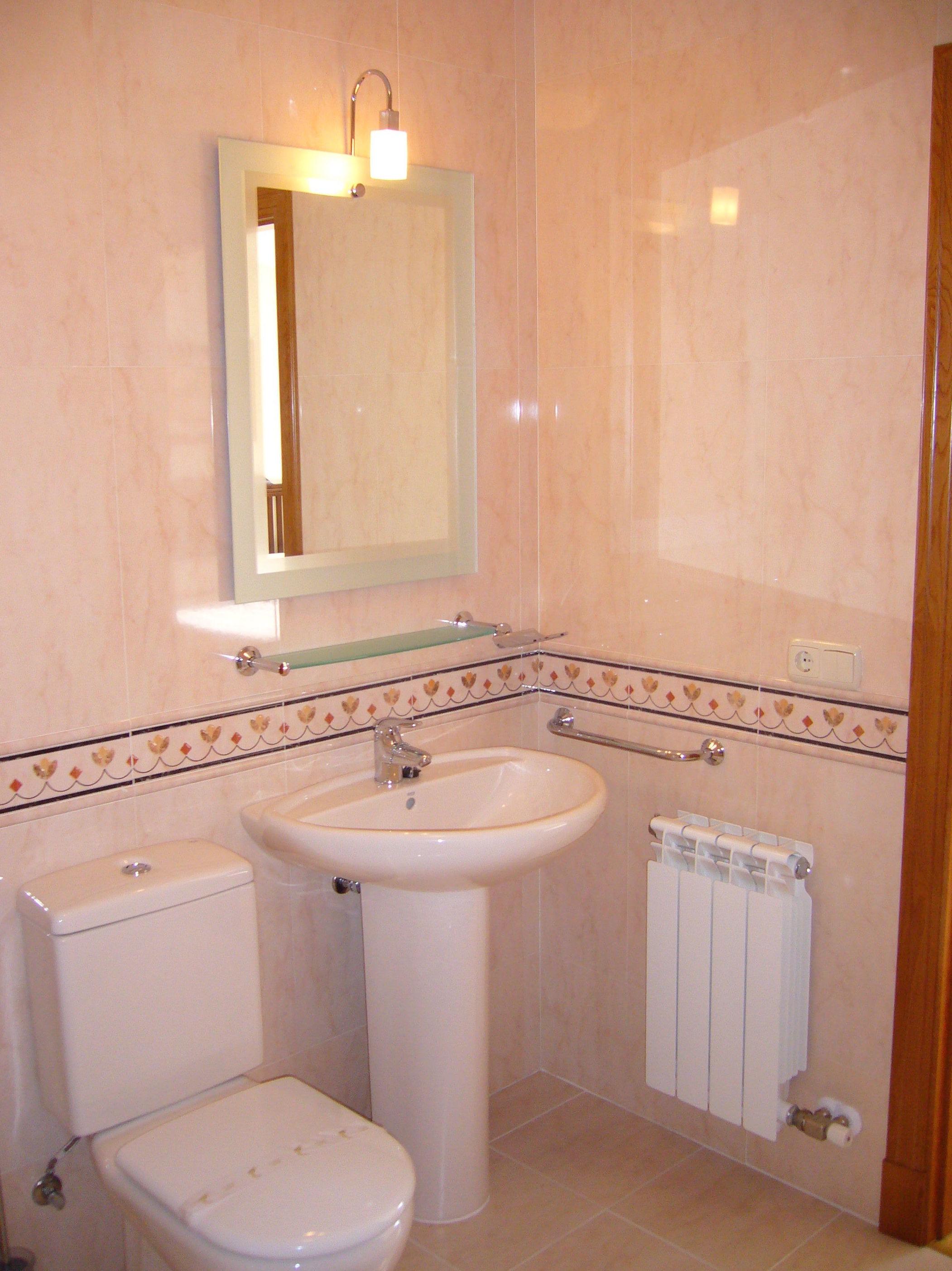 Detalle de una cuarto de baño