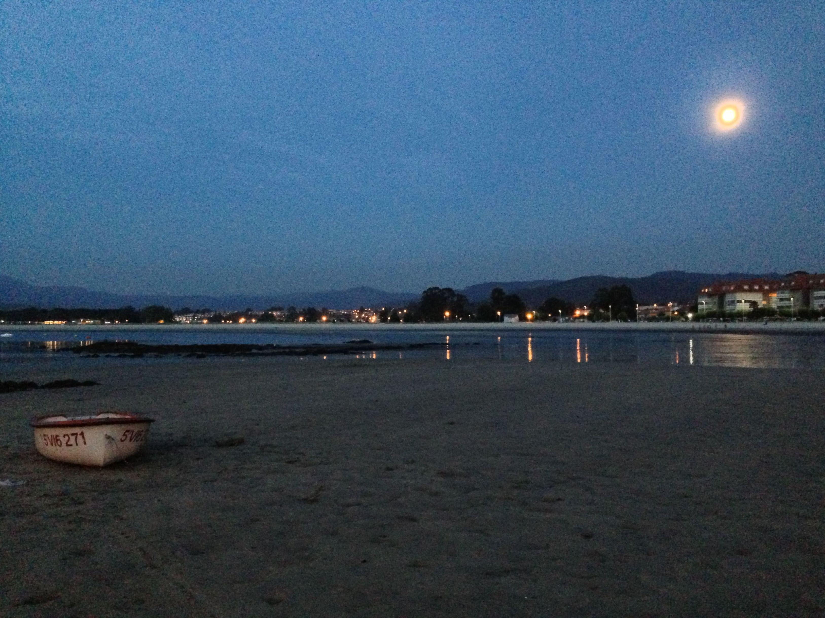 Playa Ladeira, al otro lado de la calle