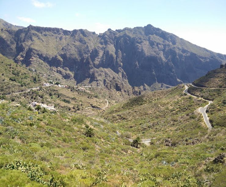 Views of the Mirador Cruz de Hilda, Tenerife