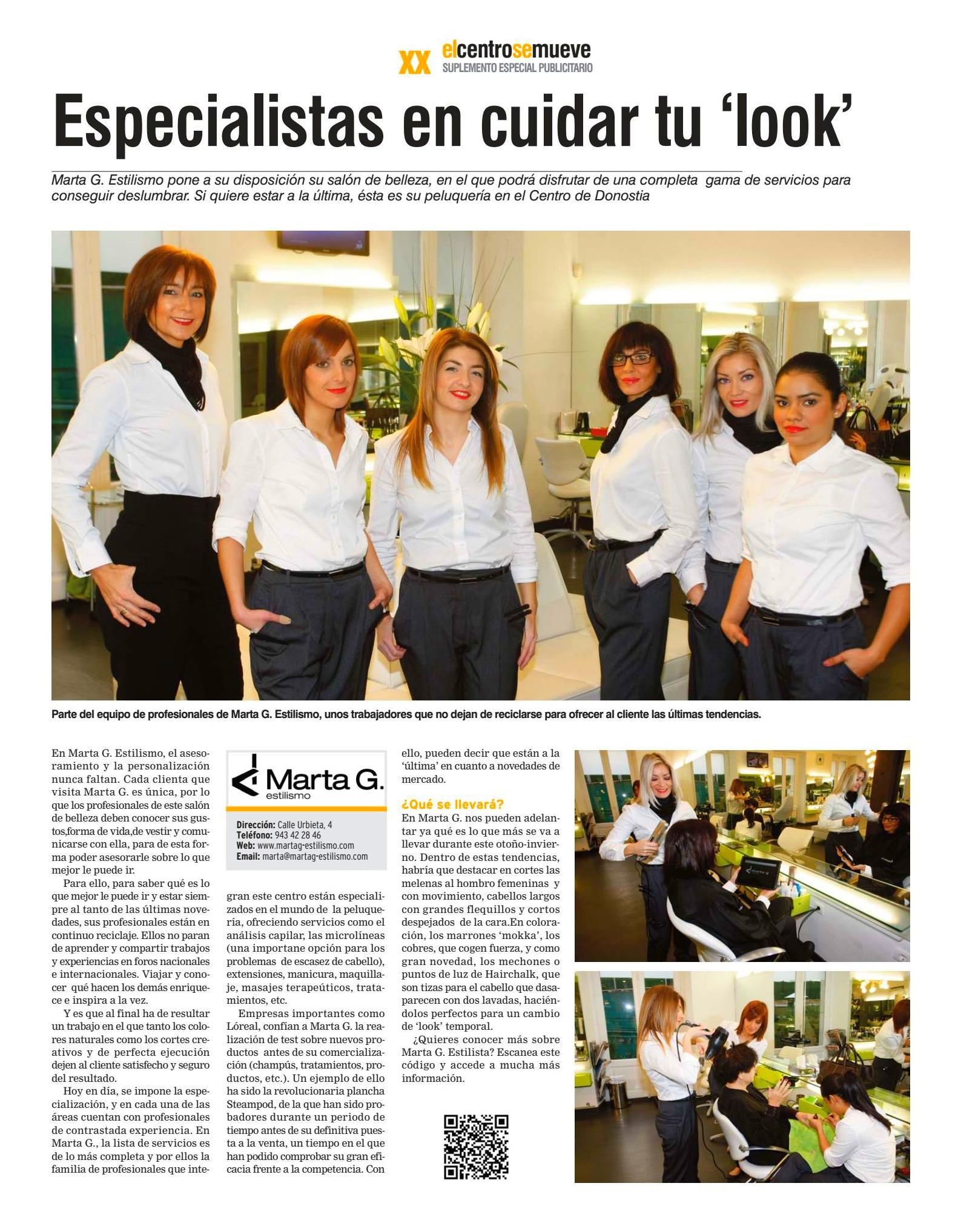 Foto 34 de Centros de estética en DONOSTIA-SAN SEBASTIAN | MARTA GARCÍA