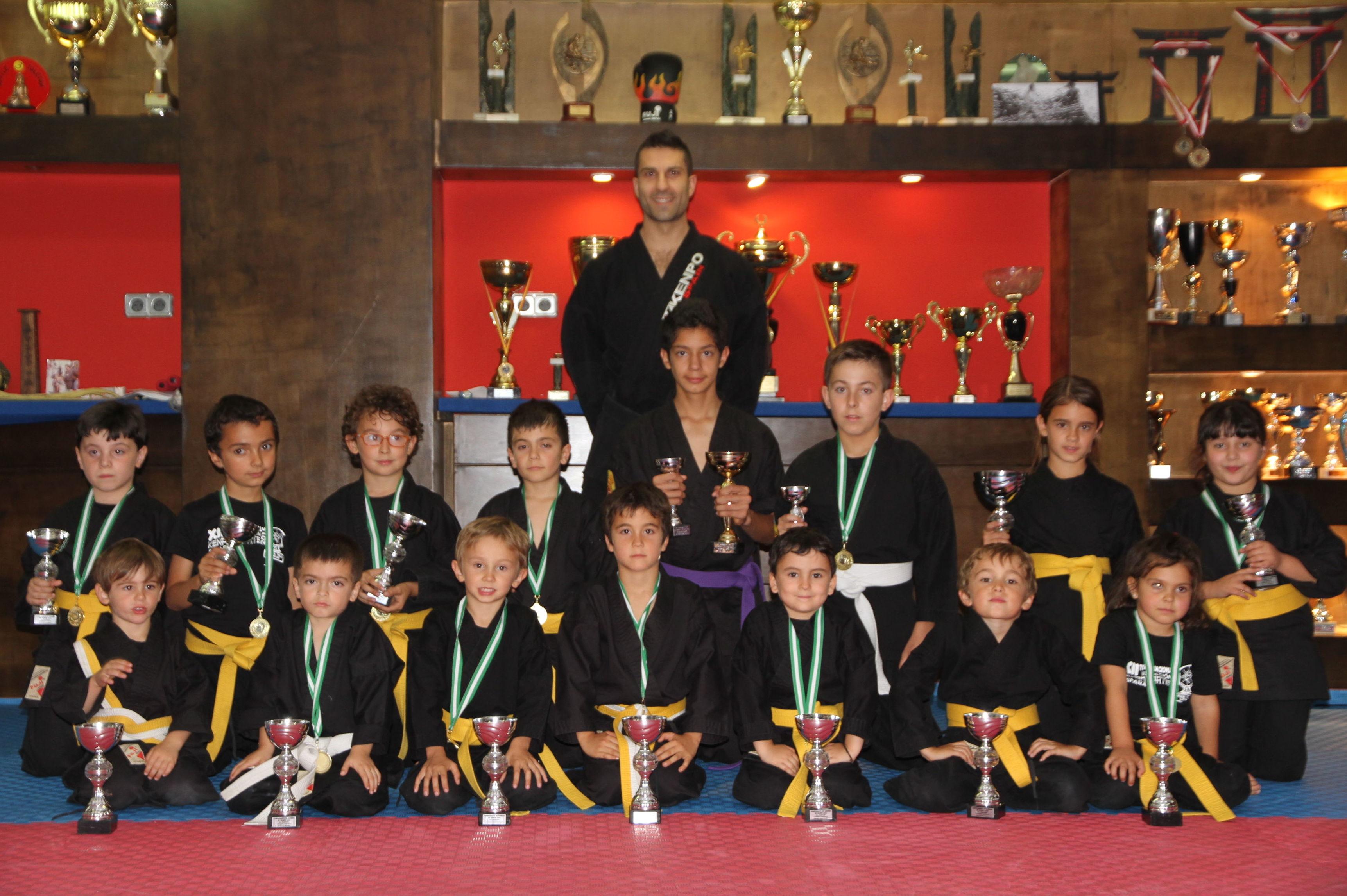 Gimnasio en las rozas con kenpo karate para niños