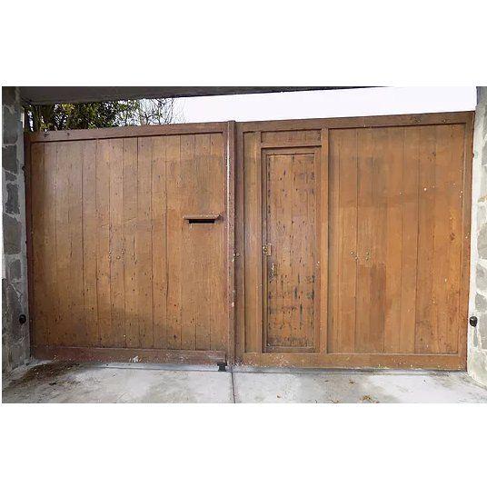 Batiente de doble hoja de madera antigua: Productos y servicios de Souto Puertas y Automatismos