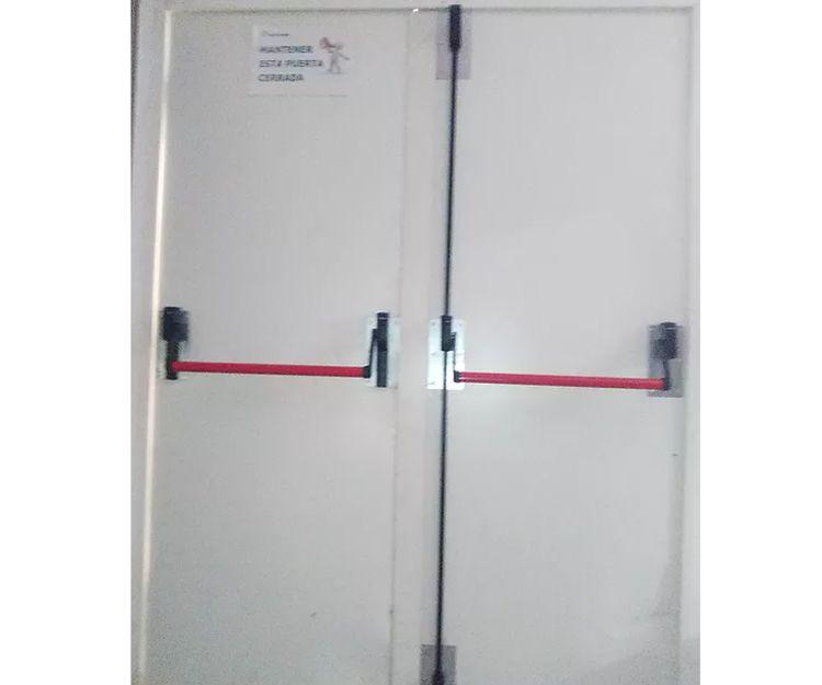 Puertas cortafuegos de doble hoja
