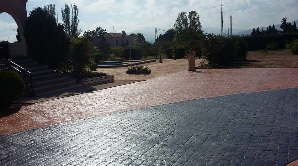 Empresa especializada en pavimentos impresos en Murcia