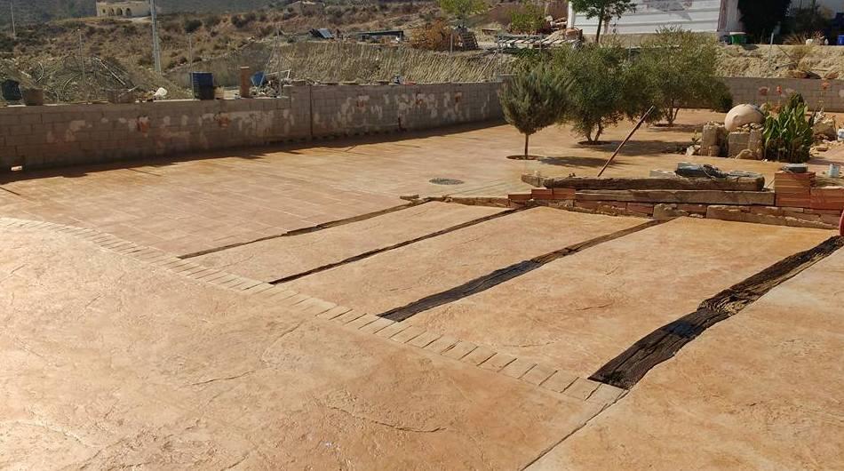Empresa con gran experiencia en pavimentos impresos en Murcia