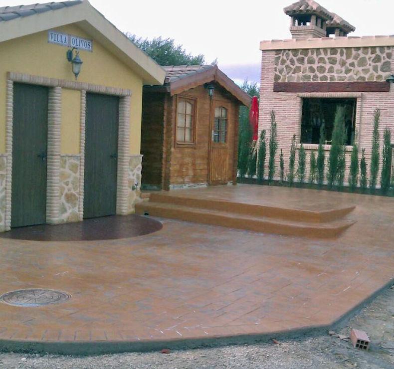 Instalación de pavimento en chalé