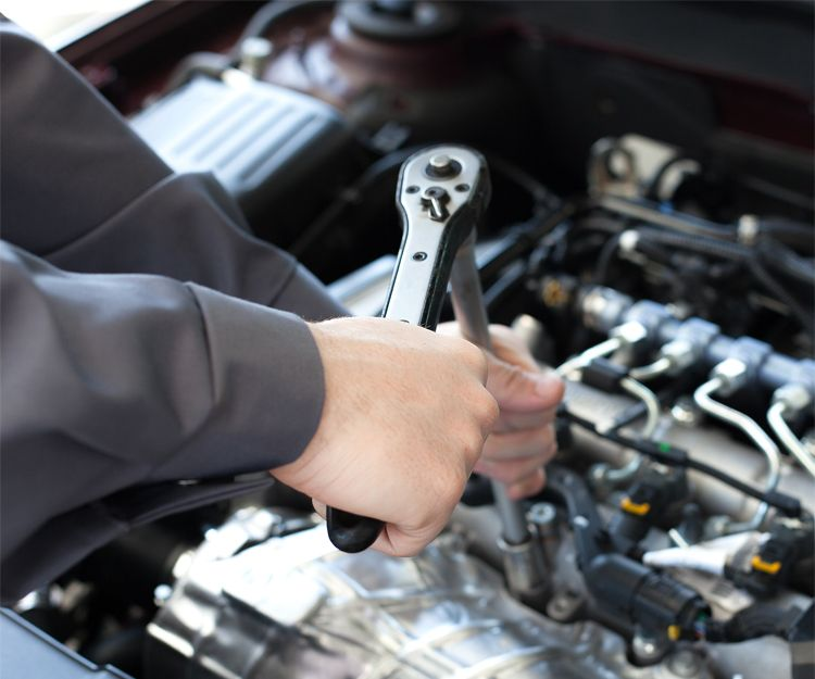 Mecánica del motor en Abadiño