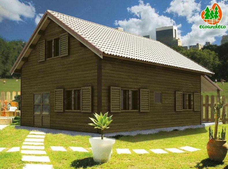 casa de madera Logroño