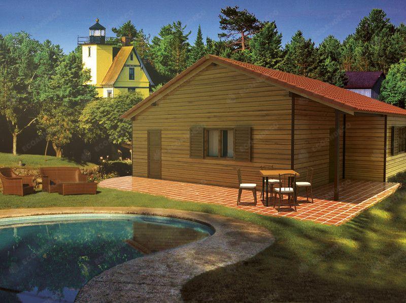 Casa madera mediana: Productos de Ecoandeco