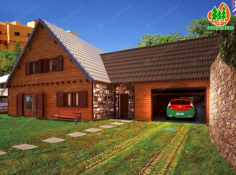 Casa de madera Marbella