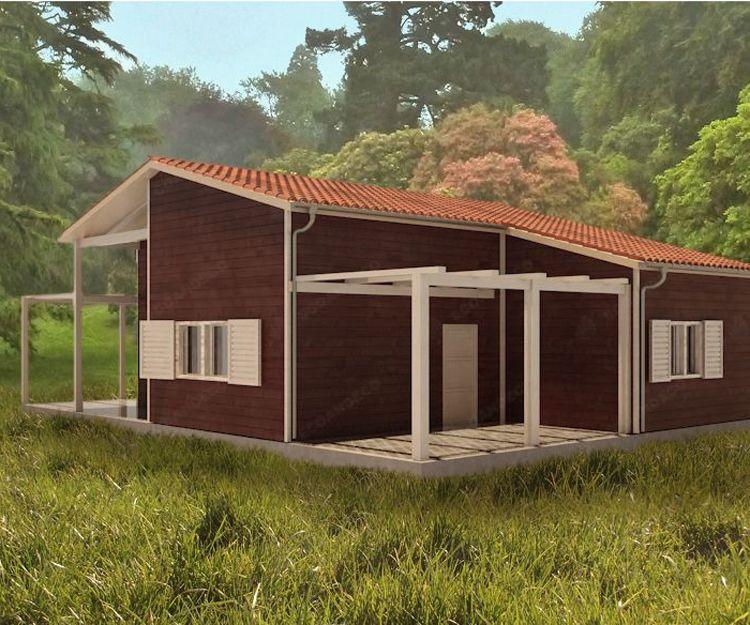 Casa de madera Santa Cruz