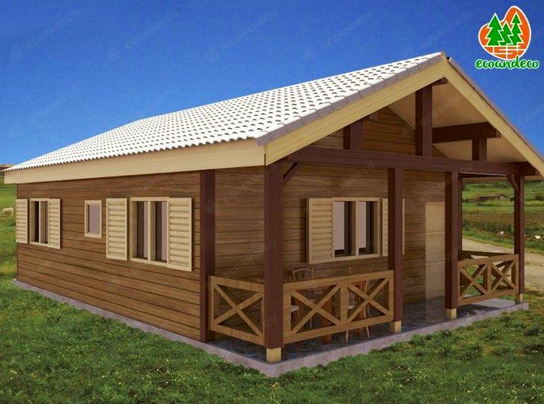 Casa de madera León