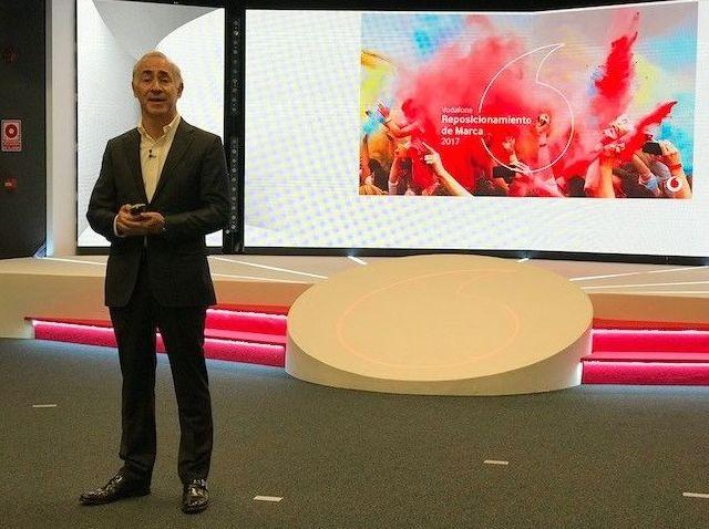 Antonio Coimbra. CEO Vodafone España