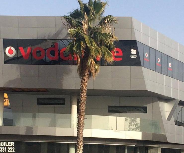 Distribución de servicios de telecomunicaciones para empresas de Vodafone