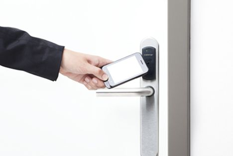 Control de accesos por NFC: Servicios de Comunicaciones Vilber