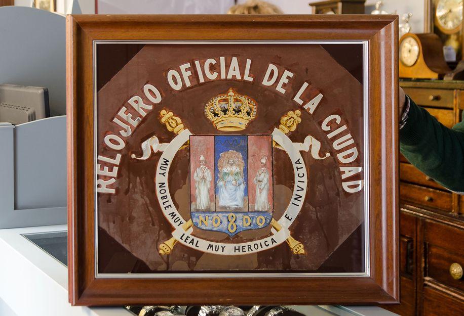 Relojero oficial de la ciudad de Sevilla