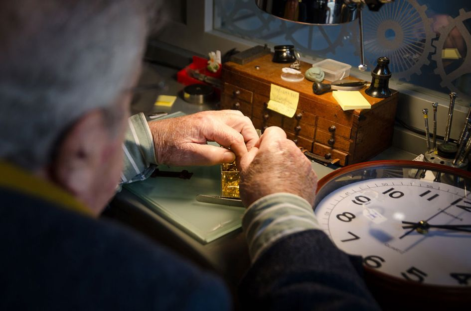 Talleres de relojería en Sevilla