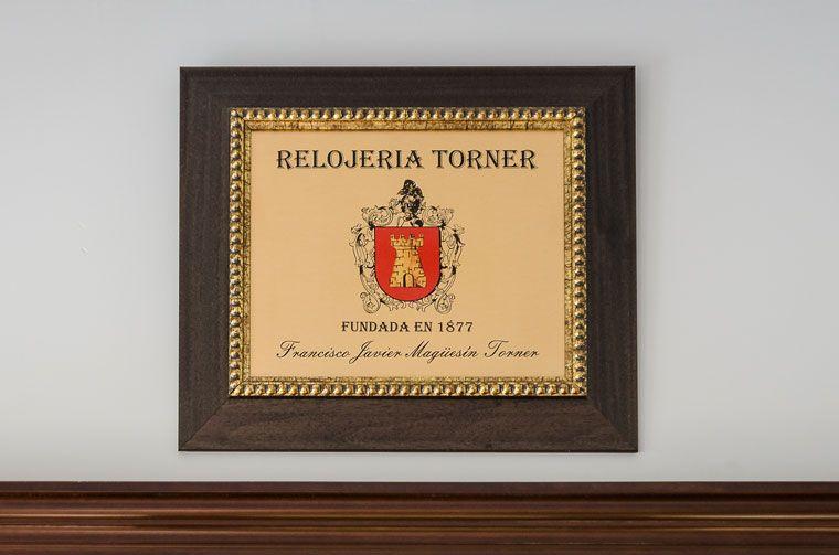 Relojería fundada por Rafael Torner Velasco en 1.877