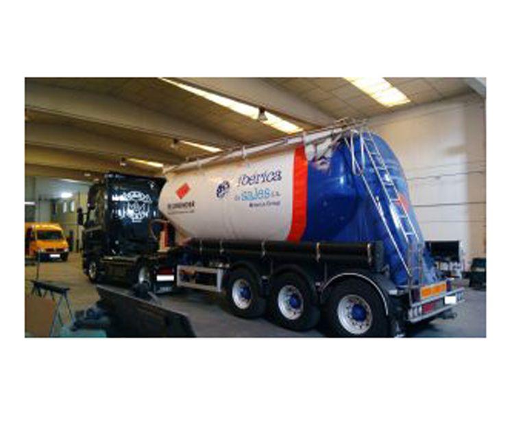 Reparación de cisternas para camiones en Zaragoza