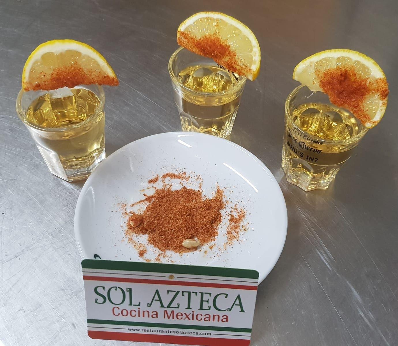 Descubre bebidas tipicas de Mexico!!: Nuestra Comida  Mexicana de Restaurante Sol Azteca