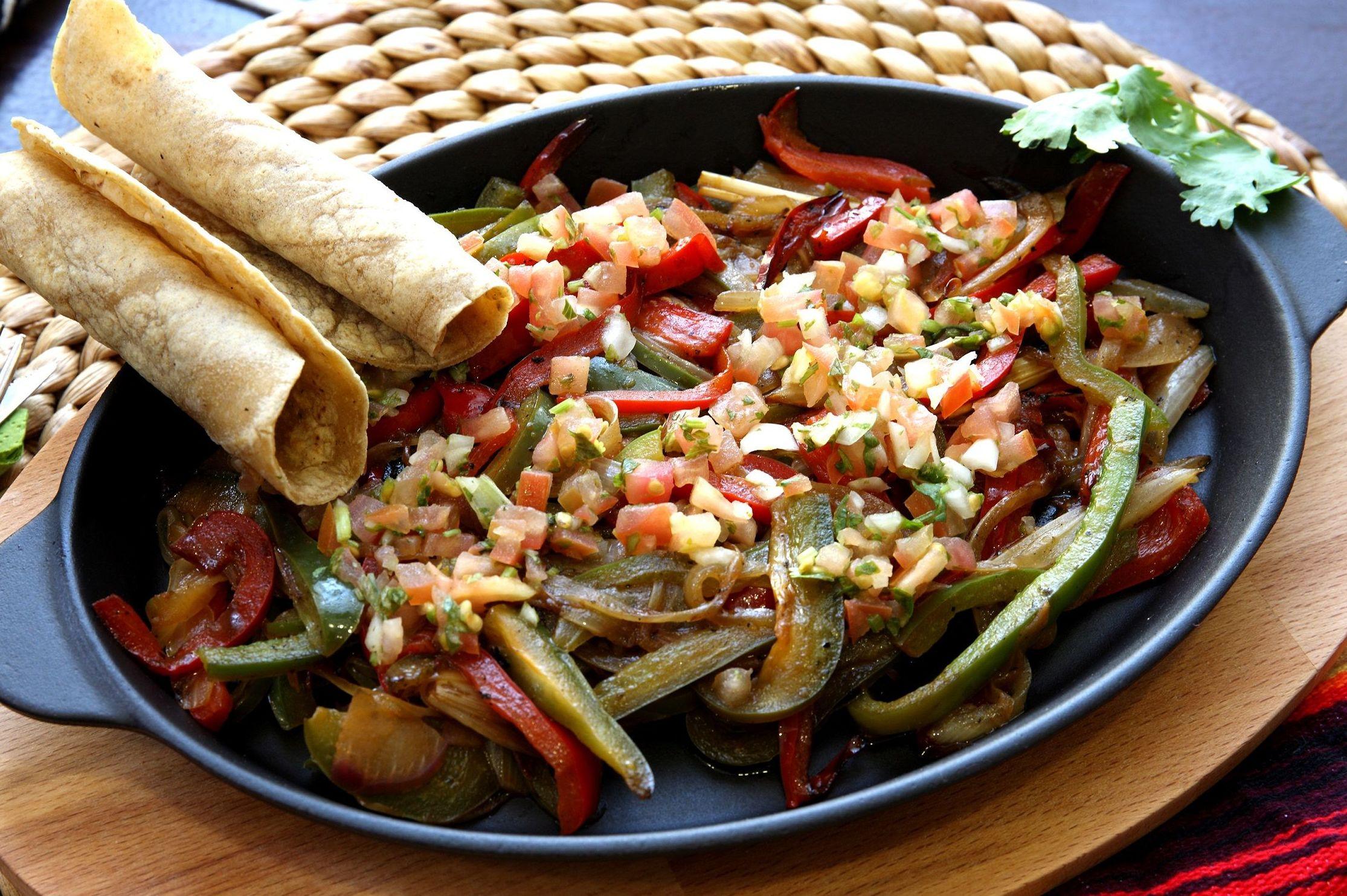 Fajitas Vegetarianas