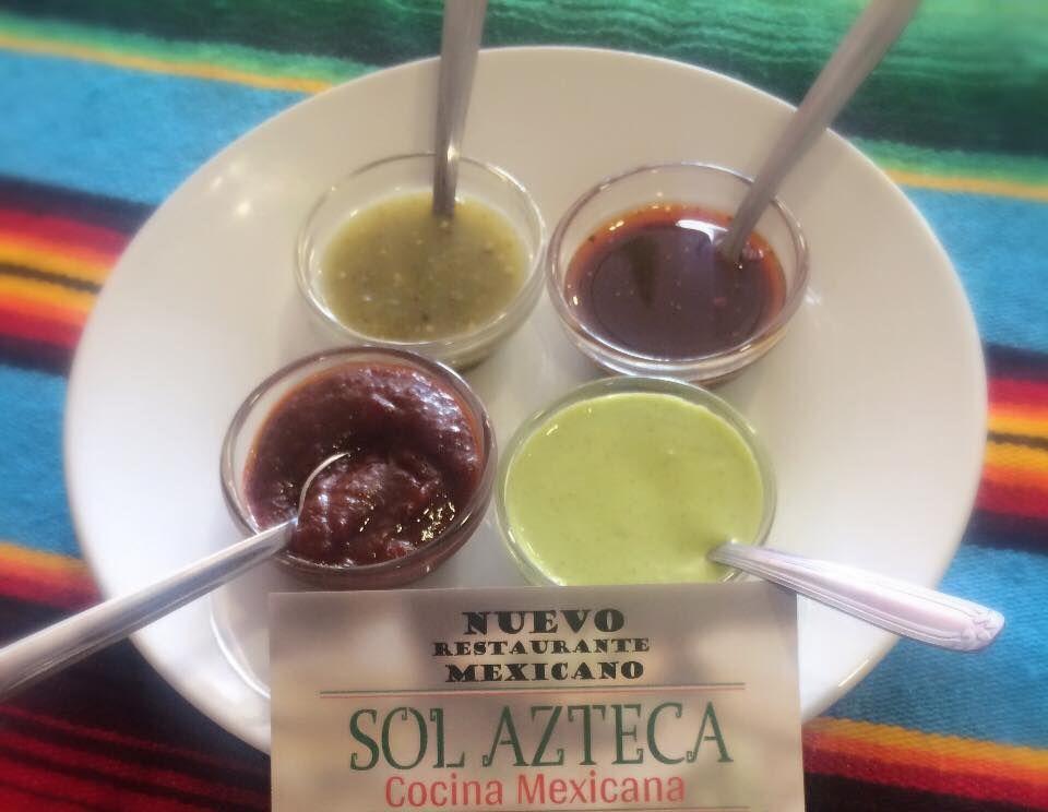 Varias salsas