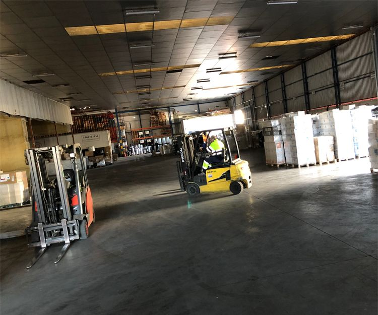 Transporte de mercancías en Alicante