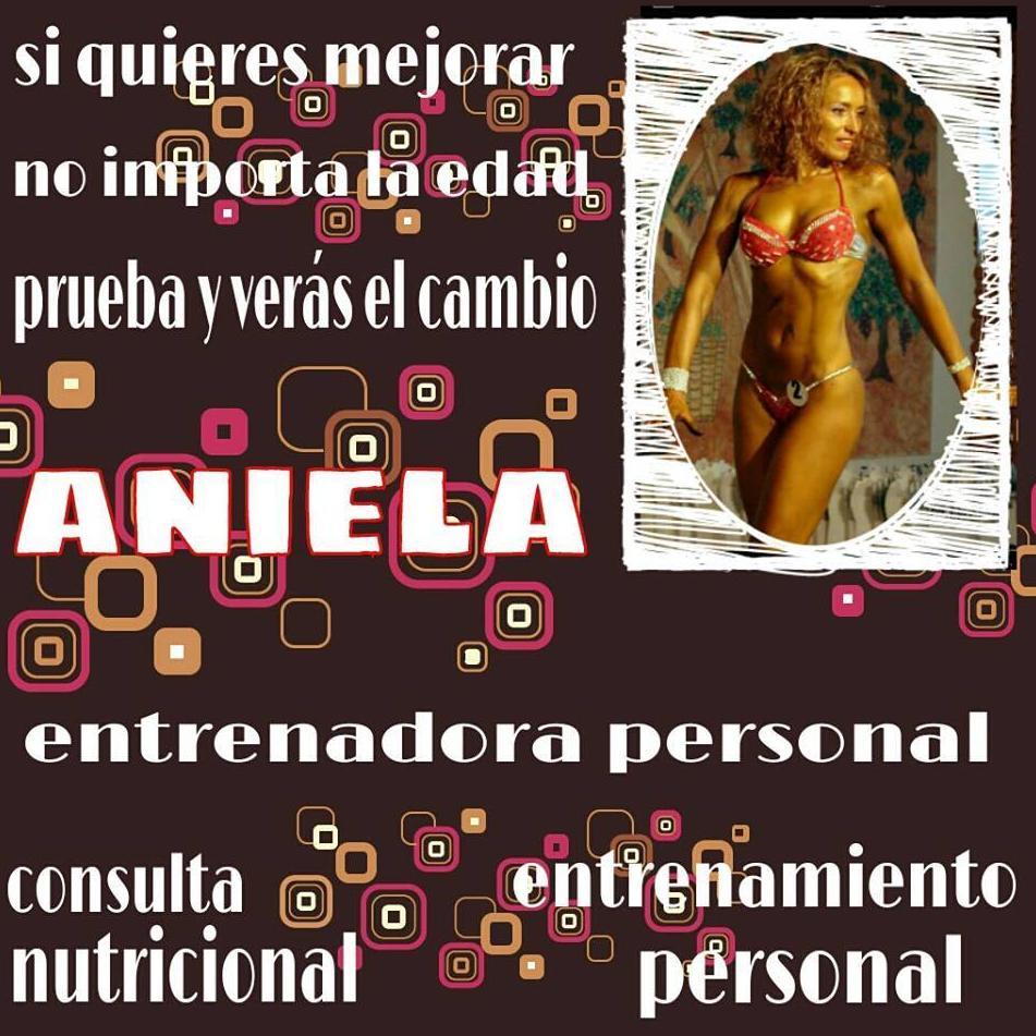 ANIELA  -ENTRENADORA PERSONAL EN GYM GUITART