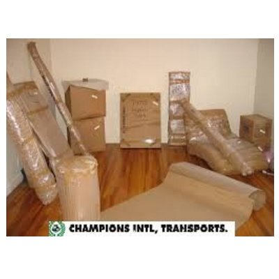 Mudanza nacional: Servicios de Champions International Transports & Moving