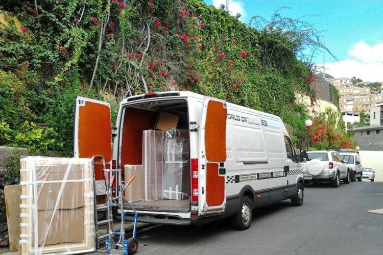 Traslado de oficinas en Tenerife