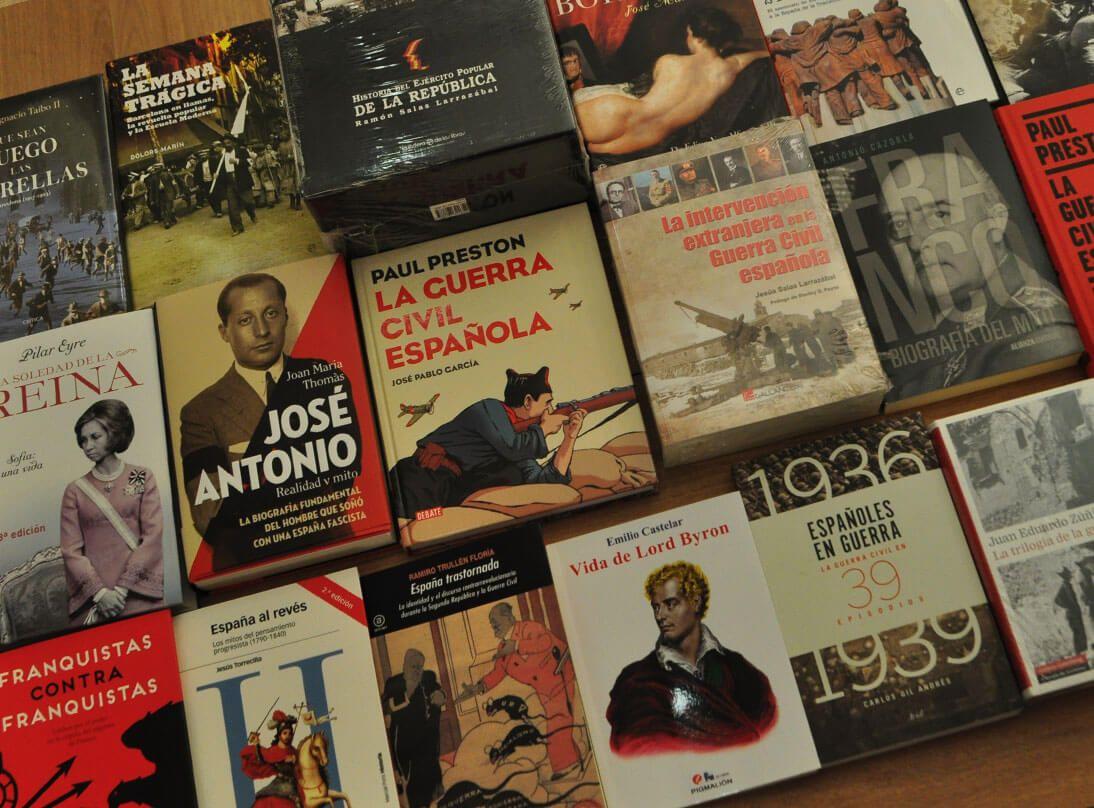 Venta de libros en Madrid