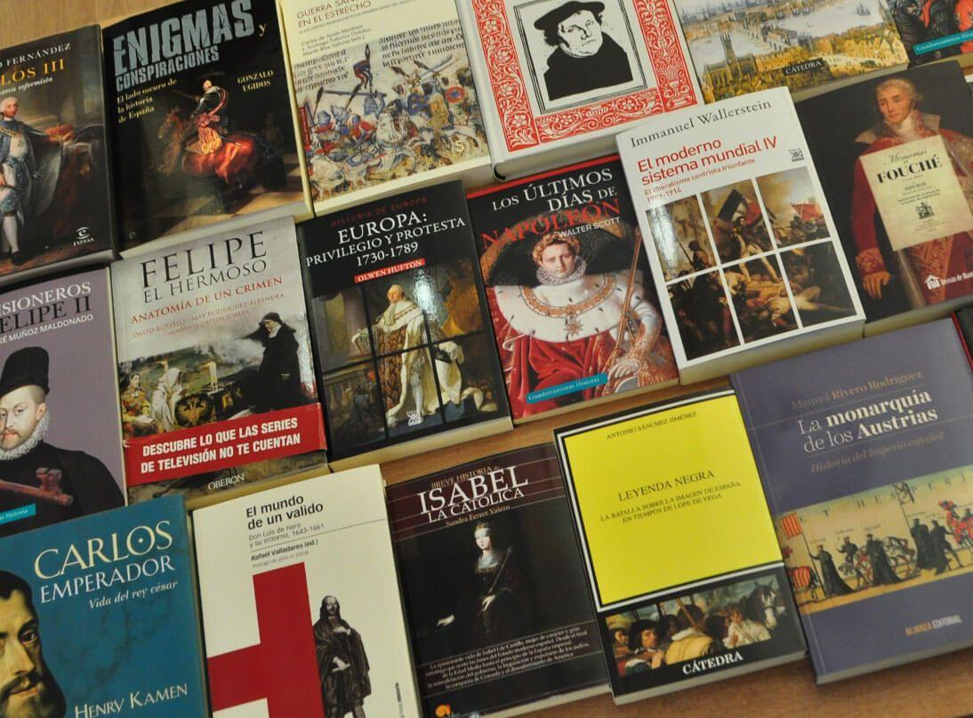Librería especializada en historia en Madrid