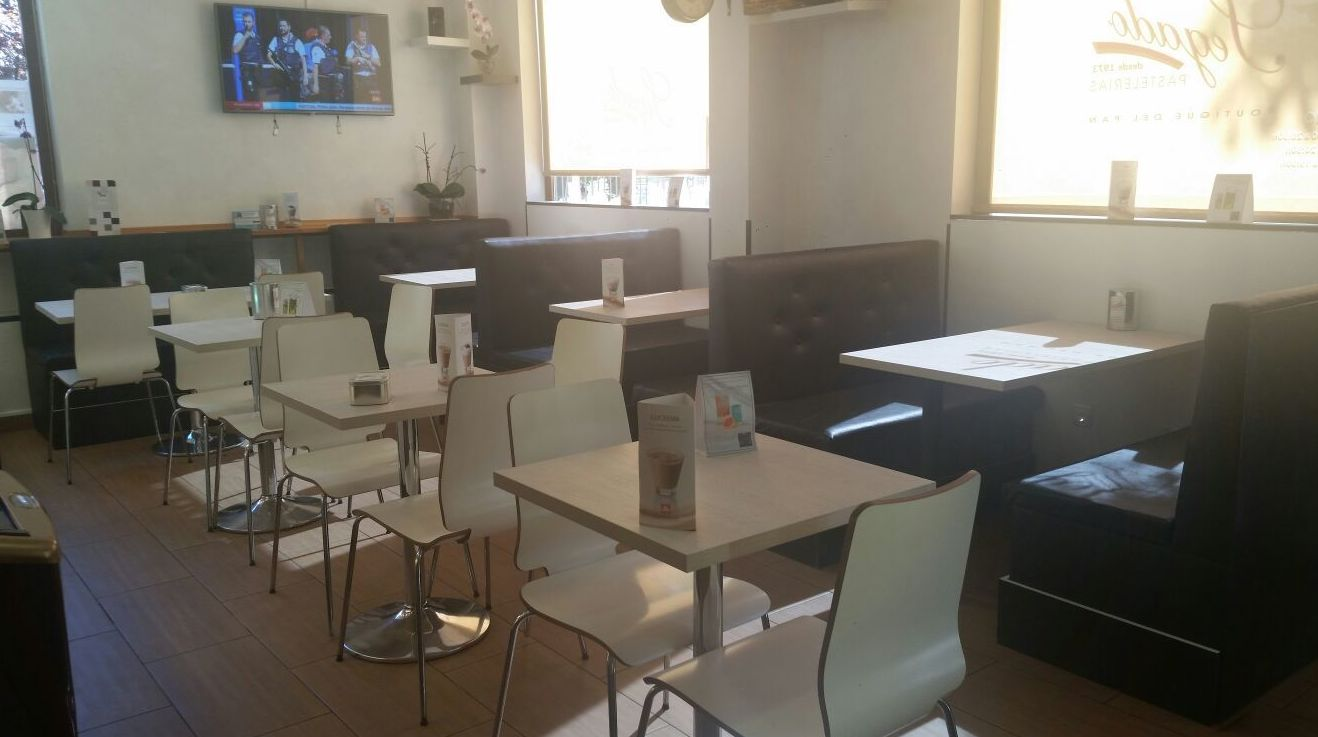 Interior de la Pastelería Segado