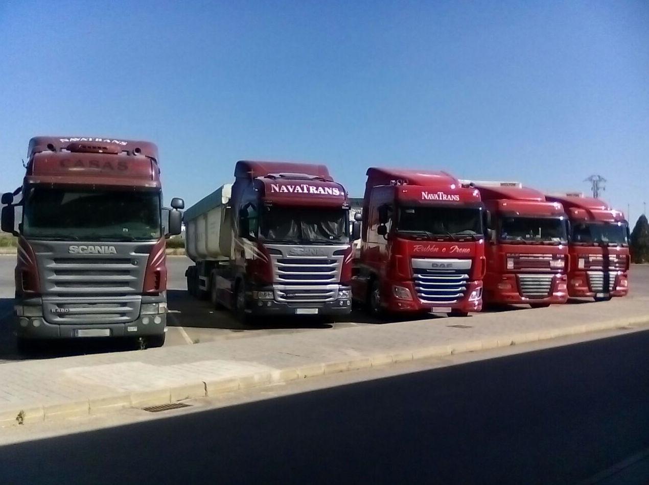 Empresa líder en el transporte de mercancías por carretera