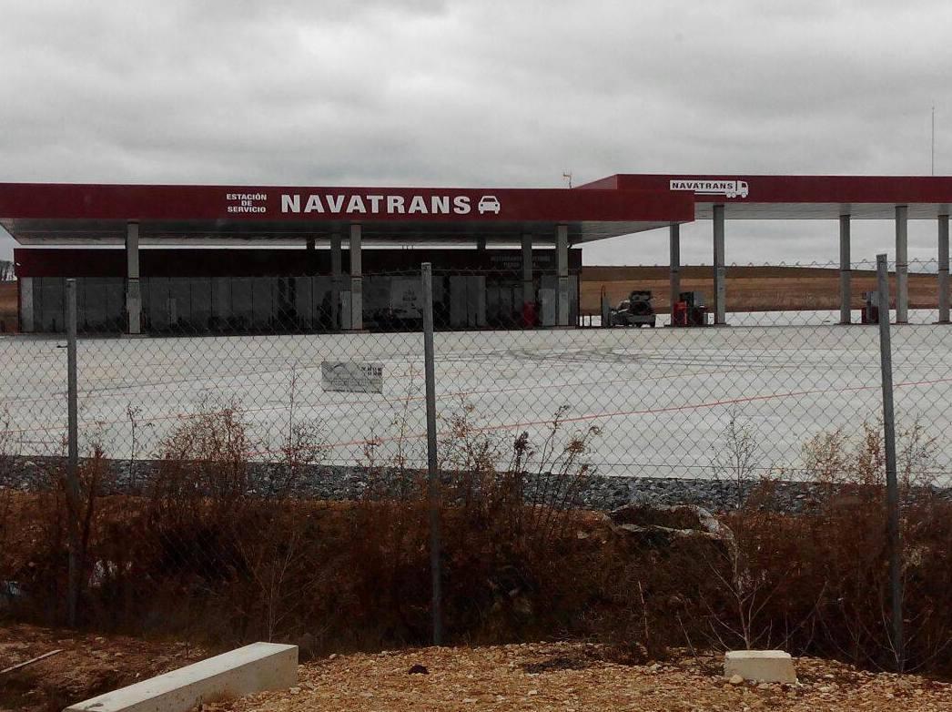 Estación de servicio Navatrans en Segovia