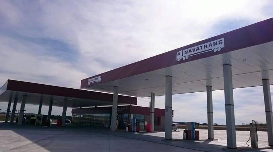 Estación de servicio 24 horas en la autovía Valladolid - Segovia, salida 80