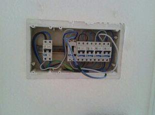 Cuadro eléctrico S/C de Tenerife