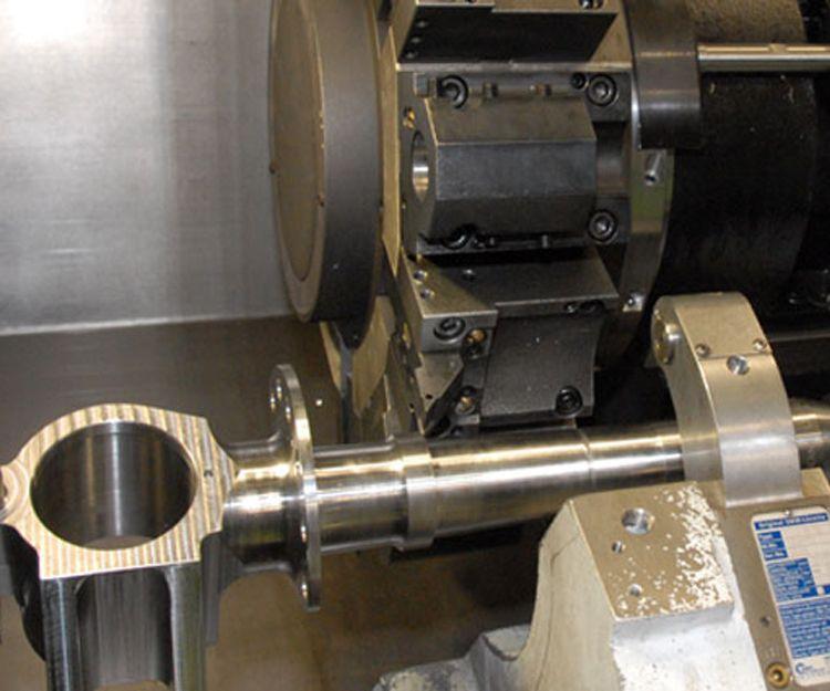 Producción de mecanizados en Huéscar