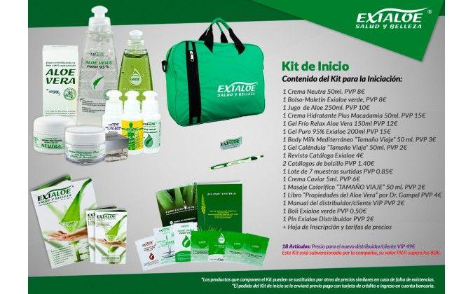 KIT DE INICIO: Productos  de Aloe Fábrica Ecológico