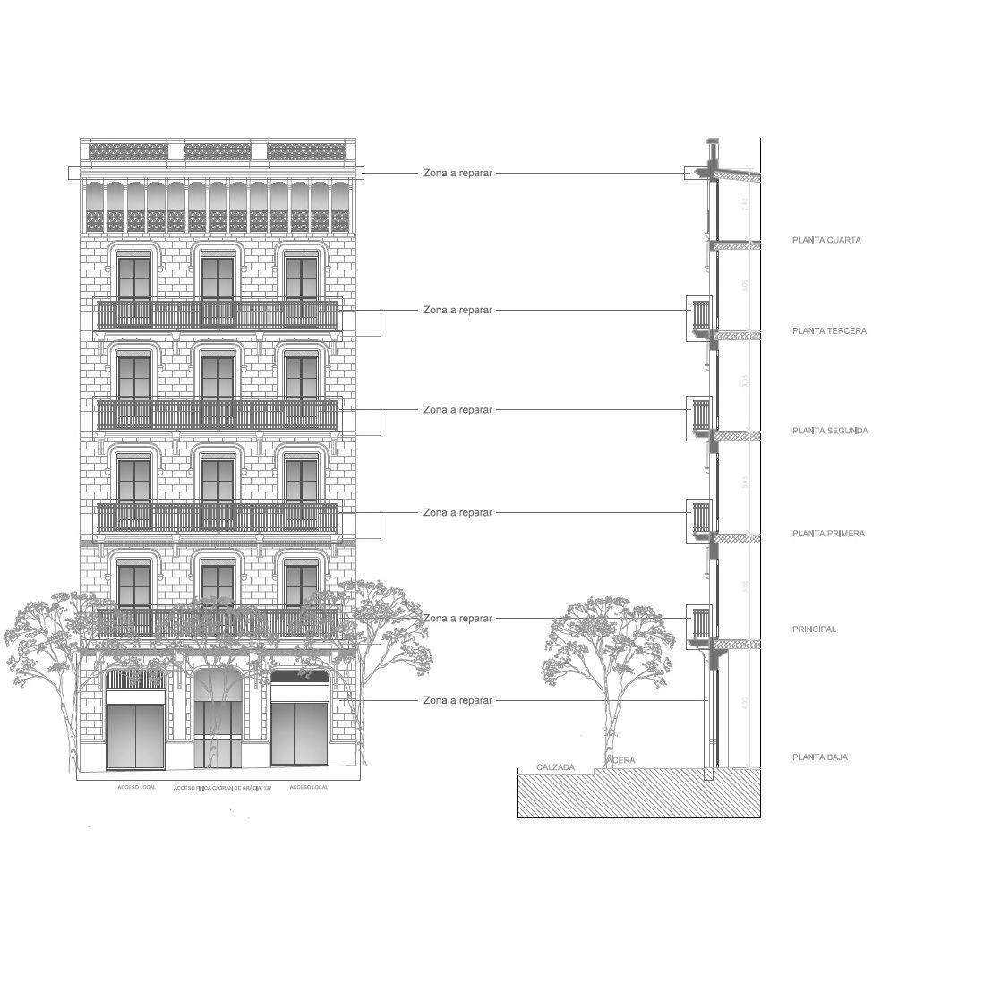 Servicio de arquitectura: Servicios de APG Façanes