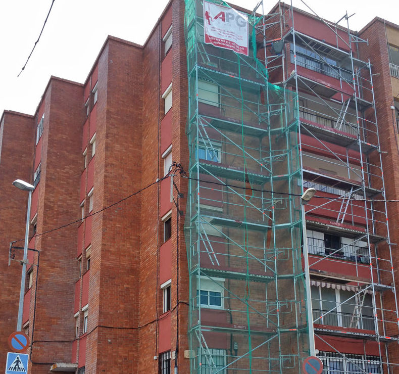 Especialistas en trabajos de rehabilitación de fachadas en Mataró