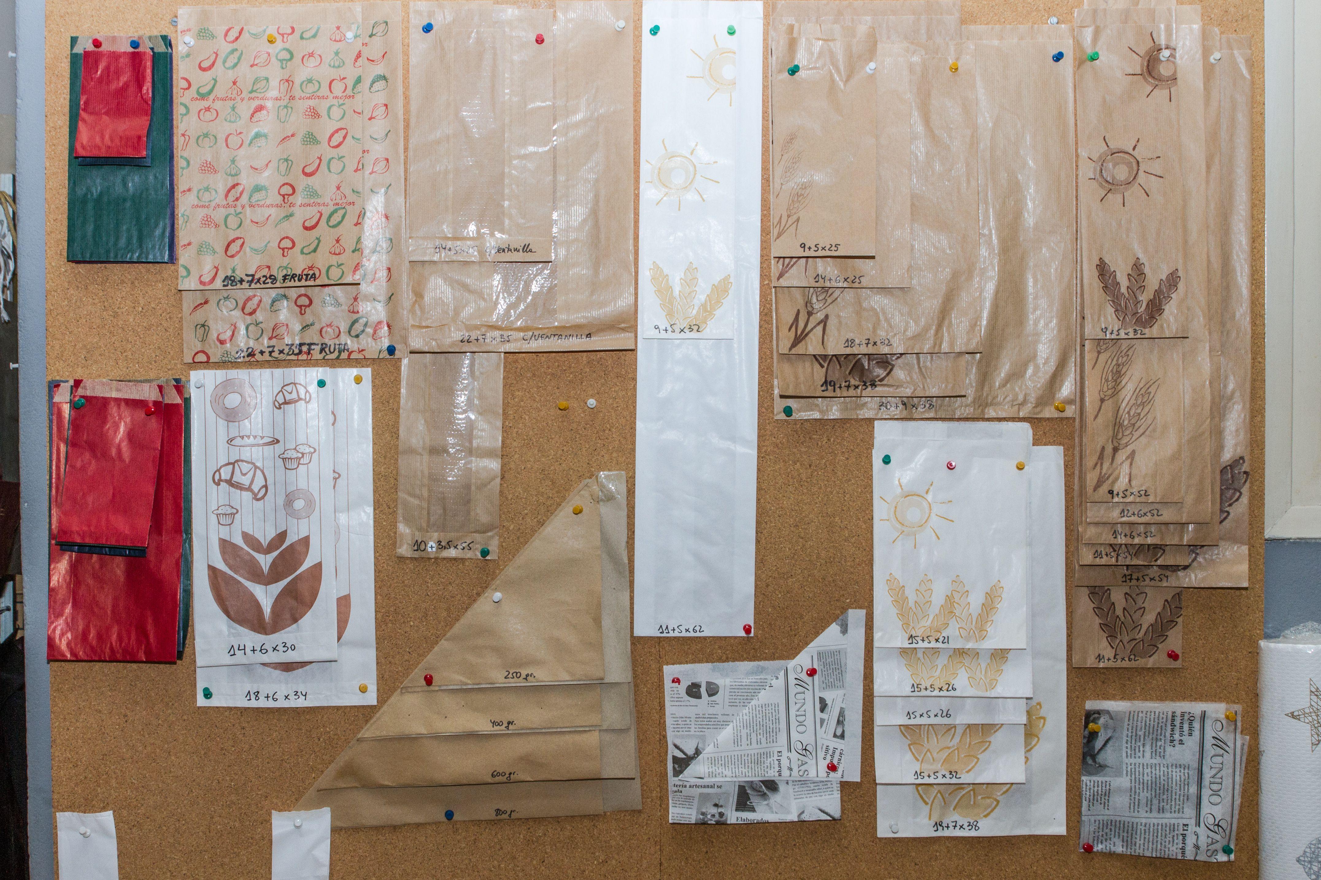 Diseños para papel de embalar
